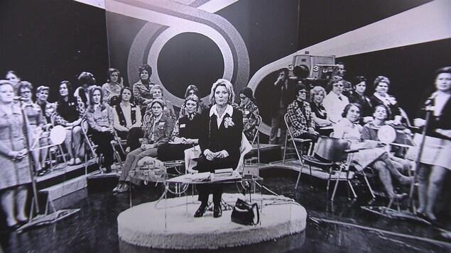 Photographie de l'émission Femme d'aujourd'hui.