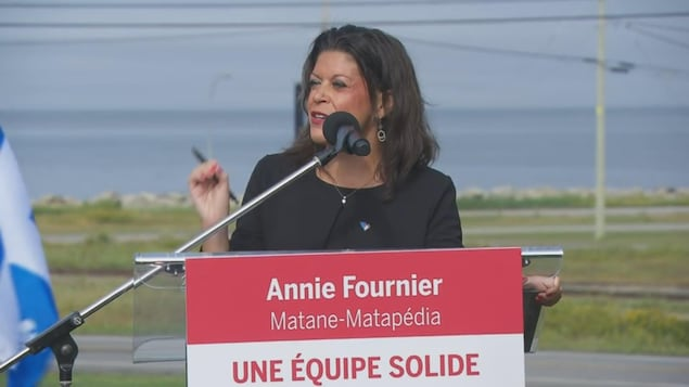Annie Fournier, candidate du Parti libéral du Québec dans Matane-Matapédia