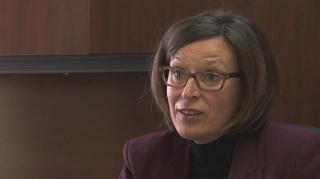 Pascale Rioux, directrice générale de la Ville de Trois-Pistoles