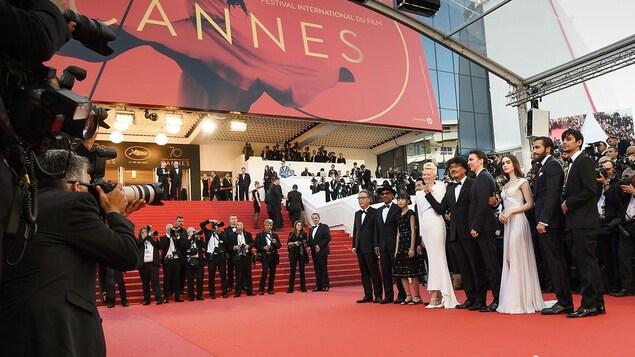 Le tapis rouge du 70e Festival de Cannes