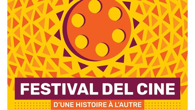 Détails de l'affiche du festival indiquant l'heure et la date des projections