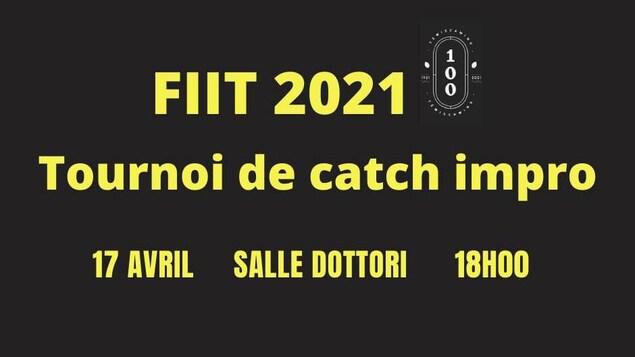 Une infographie du FIIT 2021.