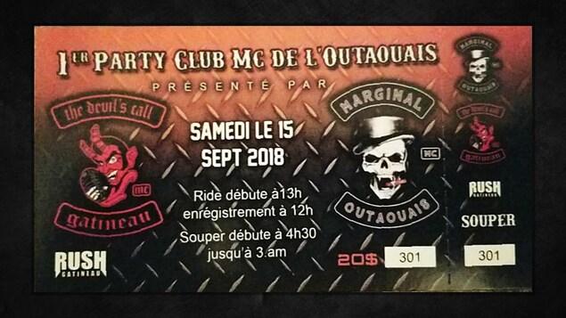 Le 15 septembre aura lieu une fête du Club MC de Gatineau