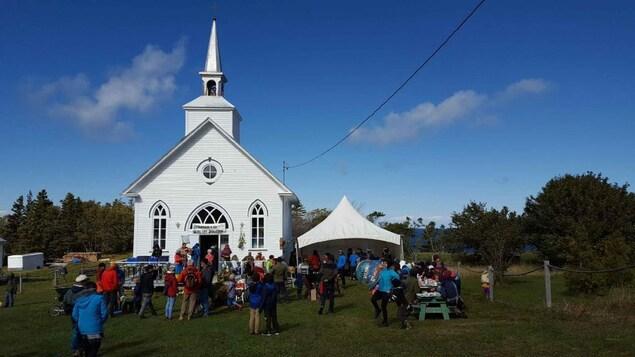 La chapelle de Cap-au-Renard : un lieu de rassemblement idéal pour la communauté