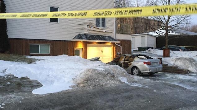 Un suspect arrêté à Sherbrooke pour une série d'incendies criminels