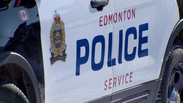 Une auto-patrouille du Service de police d'Edmonton.