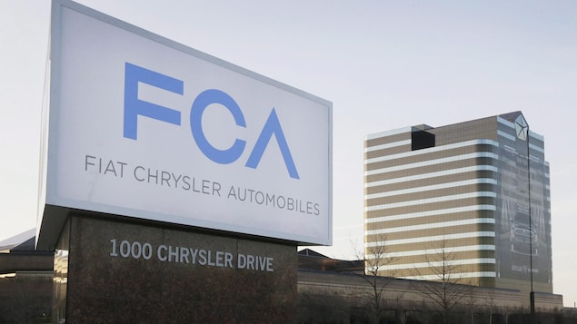 Le siège social de Fiat-Chrysler au Michigan