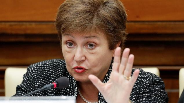 La directrice générale du FMI, Kristalina Georgieva.