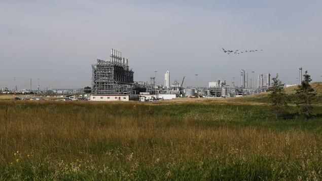 Le site de production d'éthylène et de polyéthylène de Fort Saskatchewan.