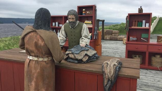 Le centre d'interprétation de la traite des fourrures de Fort-Témiscamingue Obadjiwan