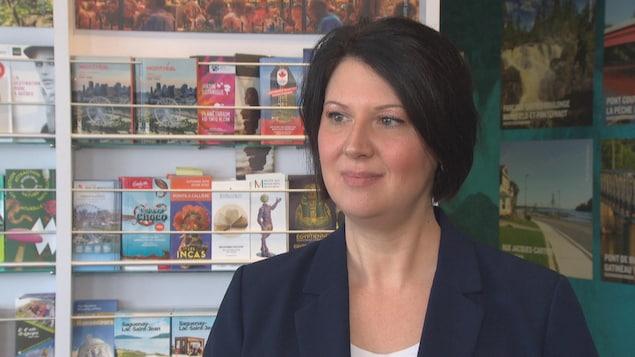 La directrice générale de Tourisme Outaouais, France Bélisle, aurait aimé des mesures pour une plus longue période.