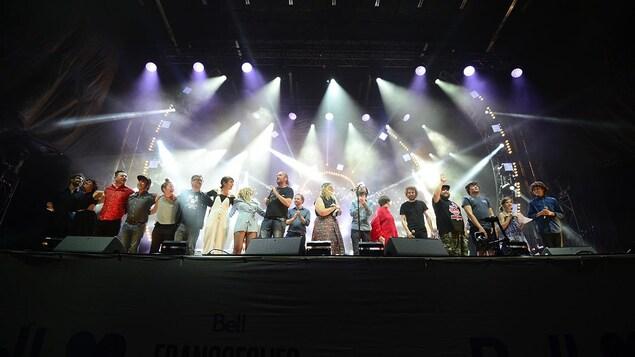 Le spectacle «Desjardins, On l'aime-tu!» aux 29es FrancoFolies de Montréal