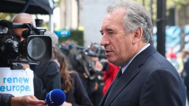 Le chef du parti centriste français du MoDem, François Bayrou.