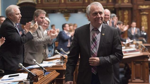 Le député péquiste François Gendron siège depuis quarante ans à l'Assemblée nationale du Québec