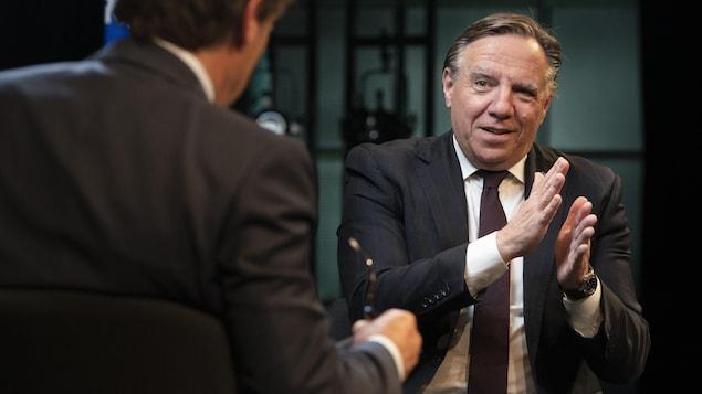 François Legault répond aux questions de Patrice Roy.