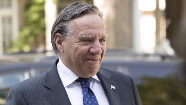 Portrait du premier ministre François Legault.