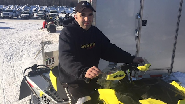 François Turgeon quitte le circuit du Snowcross au Grand prix international de Rouyn-Noranda.