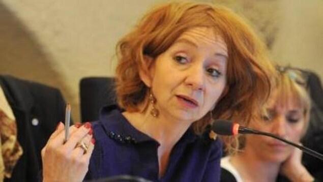 Françoise Cauwel, conseillère municipale d'opposition à Fréjus