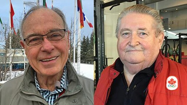 Frank King (gauche) et Jerry Joynt (droite)