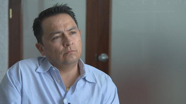 Le comptable Franklin Velasco Chavez