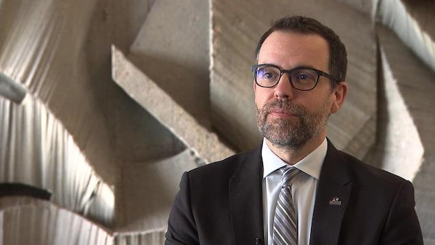 Frédérick Gaudreau, commissaire à l'Unité permanente anticorruption.