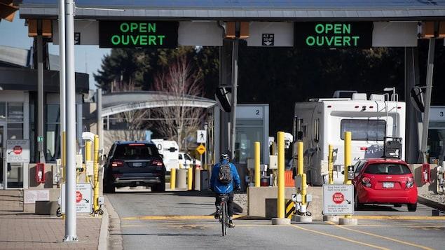 La frontière terrestre américaine est ouverte.