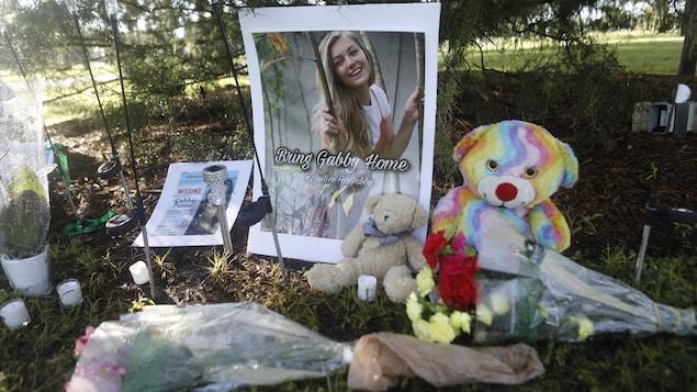 Un mémorial pour Gabby Petito.