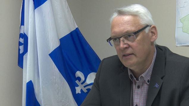 Gaétan Lelièvre, député indépendant de Gaspé
