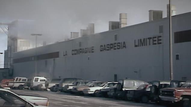 Extérieur de l'usine
