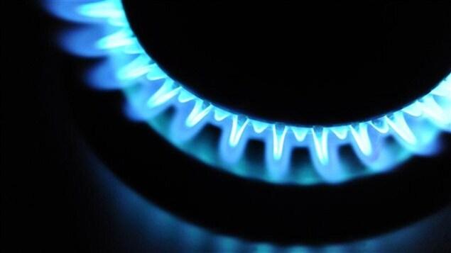 Un brûleur au gaz naturel