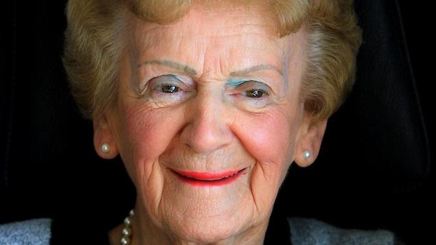 Gemma Blais Lafond à 96 ans en 2015