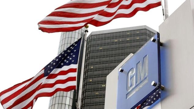 Le siège social de General Motors, à Détroit.