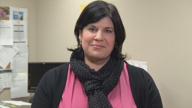 Geneviève Côté en entrevue à Radio-Canada