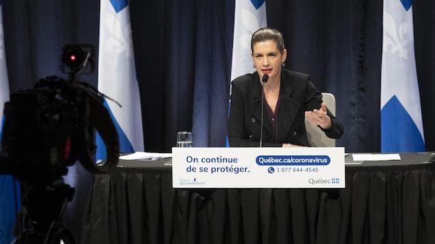 Geneviève Guilbault.