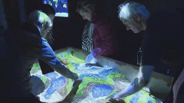 Exposition interactive Tektonik
