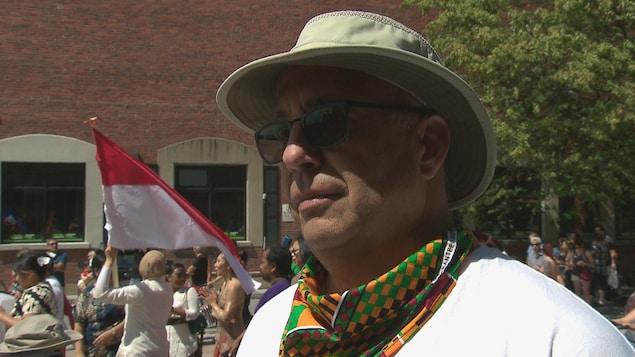 George Nammour, président du conseil d'administration de l'Association multiculturelle du Grand Moncton.