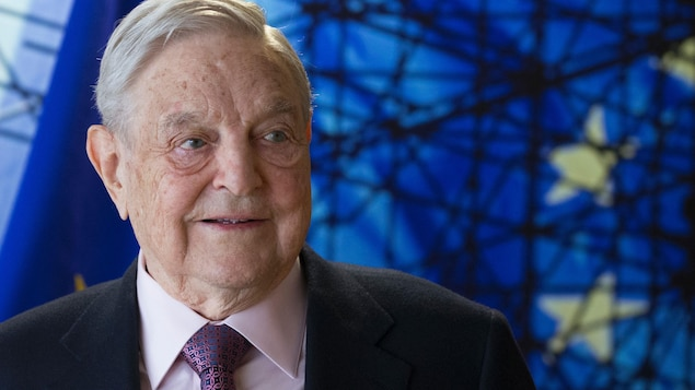 Gros plan de George Soros.