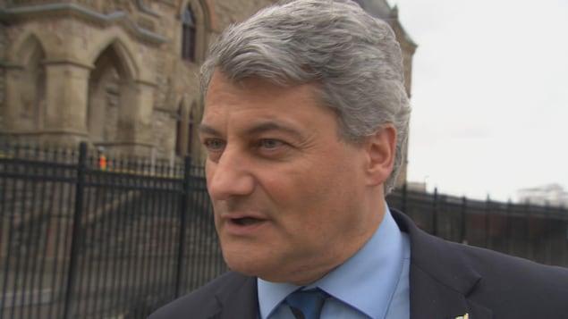 Gérard Deltell, député de Louis-Saint-Laurent.