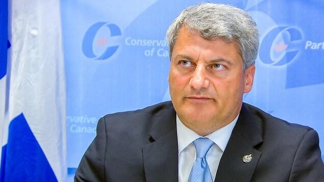 Le député conservateur Gérard Deltell