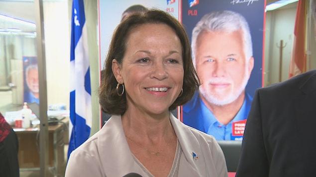 Gertrude Bourdon, ancienne candidate libérale dans la circonscription de Jean-Lesage