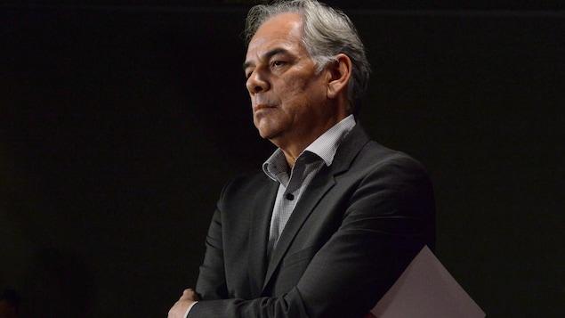 Le chef de l'Assemblée des Premières Nations Québec-Labrador (APNQL), Ghislain Picard.