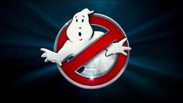 Logo des Ghostbusters, représenté par un fantôme au centre d'un signe d'interdiction.