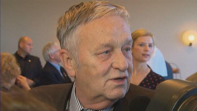 Gian Franco Kasper, président de la FIS