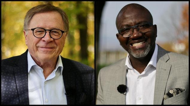 Diptyque de Gilles Lehouillier et Elhadji Mamadou Diarra.