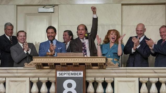 Un extrait du film «Gold» avec Matthew McConaughey incarnant le PDG de Bre-X David Walsh.