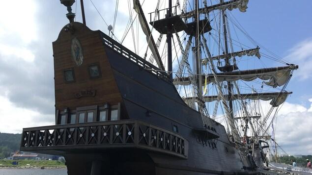 Le coup de coeur des visiteurs : le navire espagnol El Galeon