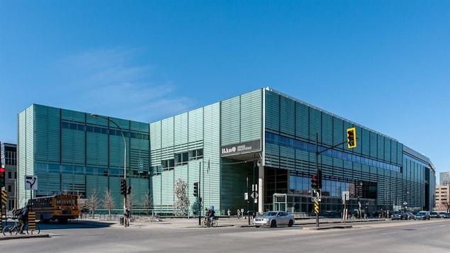 BAnQ, la Grande Bibliothèque.