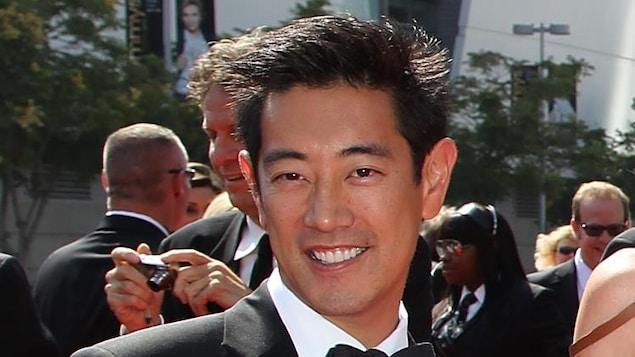 L'homme lors d'un tapis rouge, en 2011.