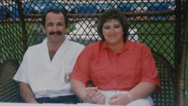 Gregory Fertuck et sa femme, Sheree Fertuck.