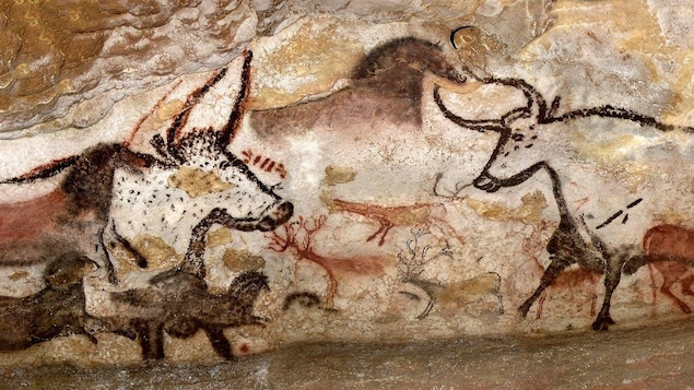 Une des images les plus reconnaissables de la grotte de Lascaux.